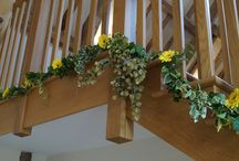 Swags, garlands and other decorations