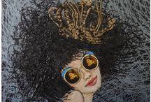 Zerrin Tekindor / Resim, enfes, kadın, painter, artist, painting, beatiful