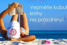 Vezměte kubulínské knihy na prázdniny! / Posílejte nám své prázdninové čtenářské fotky, nejlepší odměníme! Více viz http://bit.ly/CooBoo_Prazdniny