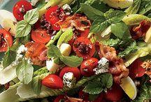 Wedding food / Lamb spit, rustic salads, beautiful cakes