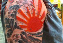 Wave tattoos