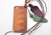 Leather Telephone