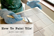 Painting tile