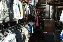 Wardrobe and place for store