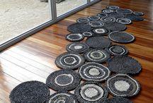 tapis avec des ronds