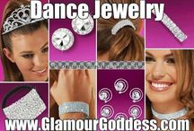 Dance Jewelry by GlamourGoddessJewelry.com / A collection of rhinestone dance jewelry for Dance Competitions.