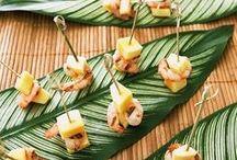 Food + Caribbean vibes