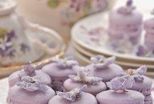 Violet treats / Fiołkowe delicje