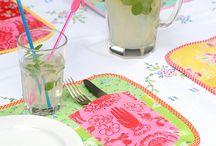Tischsets und Mugrugs