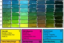 Calligraph Colors Code