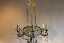 Antique Chandeliers / We have been specialising in antique lighting since 1991.
