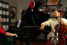 Holiday Event Music / Live musicians for Christmas parties, corporate holiday parties, Hanukkah events, and more!