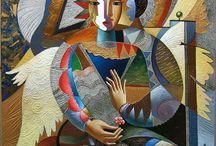Zhivetin Oleg (Живетин Олег) - американский художник русского происхождения / Работы художника #zhivetinoleg #живопись #art #artist