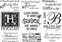 Art - Fonts  / by Cathy Winn
