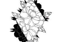 blackwork / blackwork illustrations / artwork (c) by me