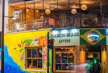 Vibrant Coloured Restaurants & Bars