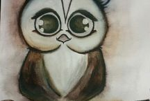 crazy owls made by Cosmo creative