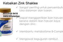 ♥ nutrisi hatiku ♥ / Shaklee Supplements