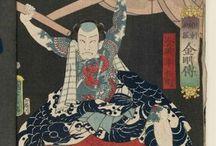 Ukiyo-e interests