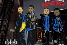 Golden State Warriors x Hip-Hop covers / Warriors inspired hip-hop artwork by Tony.psd