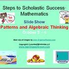 patterns algebraic thinking
