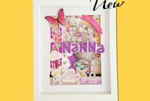 Nanna / Pineapple Magic handcraft beautifully bespoke pieces of art by using your precious cards.  We do so with loving care and attention to detail, creating stunning pictures.  Using a process of collage and design, your cards will come to life! These wonderful pieces of art are the perfect way to decorate your home, allowing you to enjoy all the memories they offer on a daily basis.