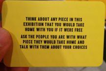 exhibition take away
