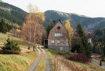 Bjerg huse