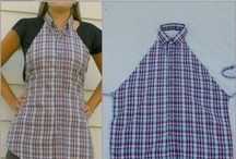avental de camisa