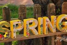 3D Letters / Spring