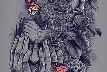 ilustrações / by Patricia de Almeida