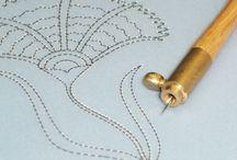 Prick & Pounce embroidery
