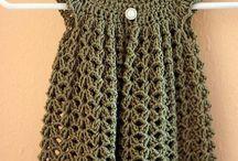 Ganchillo faldas y vestidos