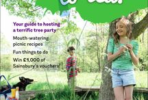 Invite a tree to tea! / The Woodland Trust is encouraging families to get together this summer by throwing a tree party. / by Netmums