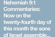 Nehemiah 9: 1