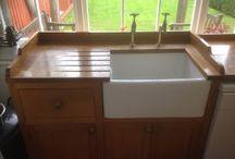 Kitchen worktop Restoration / Wood Kitchen worktop sanding and restoration