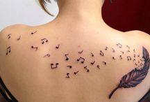 Tattoo's / Ontwerpen/inspiraties voor tatoeages.