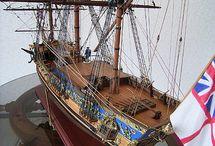 makety starých lodi