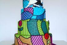 Patchwork cakes