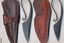 early medieval knives