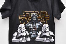 Bluzki dziecięce Star Wars / https://pl.pinterest.com/starwarspolska/
