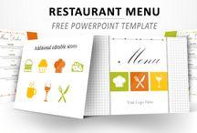Plantilla menu restaruant