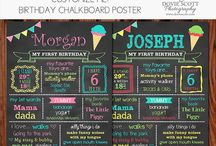 Ice Cream Shoppe Birthday Party / Ice Cream Shoppe Birthday Party Ice Cream Shoppe Birthday Party Ideas Birthday Chalkboard Favorite Things Sign Party Decorations