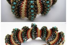 Beading techniques / Techniques relating to various stitches etc