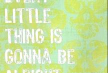 Words to live by / by Tara Satim