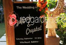 Island Rustic and Vintage Wedding / A Wedding of Crystal & Jeffery