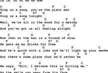 lyrics & chords