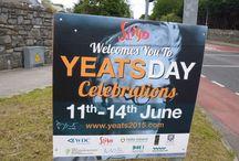 Yeats Day Sligo et Lily & Lolly Craftfest 2015 / À travers la célébration du 150ème anniversaire de la naissance de Yeats, l'#Irlande célèbre et fait la promotion de sa créativité. Nous avons fêté l'événement dans les rues de #Sligo, et assisté au LilyLolly Craftfest. Il s'agit d'un festival d'artisanat au nom des artistes Lilly et Lolly qui sont les sœurs du célèbre poète irlandais.#yeatsday