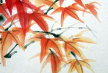 Japanese Ink Painting & Calligraphy