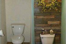 Интерьер - Ванная и туалет